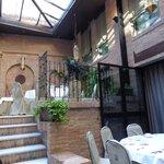 Restaurante do Hotel, onde foi o café-da-manhã