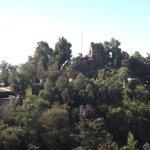 Vista do 19o andar do Amistar para o Cerro Santa Lúcia