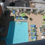 View of pool from room 1117