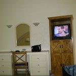 las habitaciones necesitan ser redecoradas