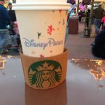 The new starbucks in Magic Kingdom has Disney Parks Starbucks cups