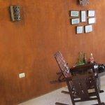 patio next to Sisal suite