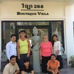 288 Boutique Villa Staff