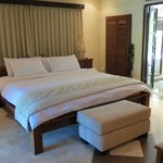 King size bed deluxe downstairs bungalow