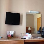 this is the television in hotel Venera!!! the smallest!!!