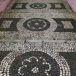 Interesting floor tiling