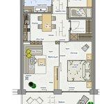 Ansicht Appartement / Suite