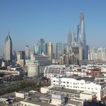 view of Pudong from my room 17th floor