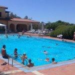 Overcrowded pool