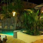 Billabong-style night swimming...