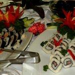 Buffetrestaurant Saona mit japanischen Gerichten
