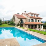 Casa das Pias y piscina