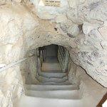 l'entree du souterrain