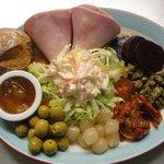 The Quaich Cafe- Ham Salad