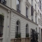 Just off main street, so quiet.. and really easy to walk to from Gare du Nord. **DONT STAY CENTR