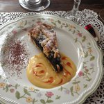 Crostata di visciole - doesn't mean you don't have to try the tiramisu!!