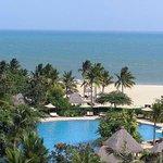 Blick auf das südchinesische Meer