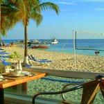 Breakfast by the Beach Barcelo Costa Cancun
