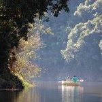 Canoe on Touw River