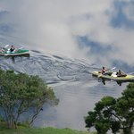 Canoeing in the sky