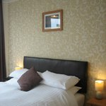 King size beds in all double rooms
