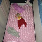 Babies cot every day, very inviting