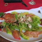 Lobster salad main course