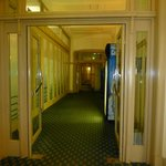 Criterion Hotel - Zimmerflur im Erdgeschoss