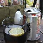 VN coke light with lemon