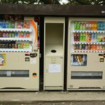 Vending Machines available too