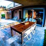 Terraza + Entrada