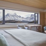 View of Torres del Paine from bedroom (95189501)