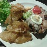 Comida típica - Chivitto