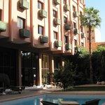 cortile interno hotel