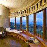 Guest bedroom in Explora Rapa Nui