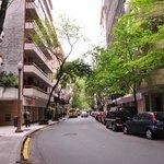 Rua do hotel_bacana