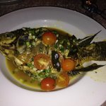 Curried Steamed fish
