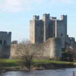 The magnificent Trim Cstle in CO.MEATH. The Largest Anglo Norman Castle in Ireland..