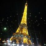 A torre vista do Sena.