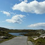 The road to Amhuinnsuidhe