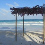 beach - wedding prep