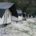 Spacious and comfortable tents