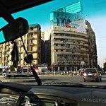 near the hotel , tahrir square