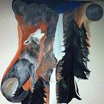 Local artist, Brittany Elsman