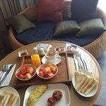 B'fast in the room