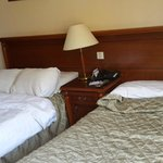 This is their concept of room cleaning. They left the beds like that !!
