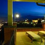 Terrazzo vista Etna