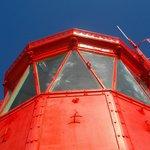 Le haut du phare sert aussi d'amer.
