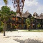 les bungalows vue mer