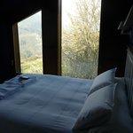 second floor bedroom with great views